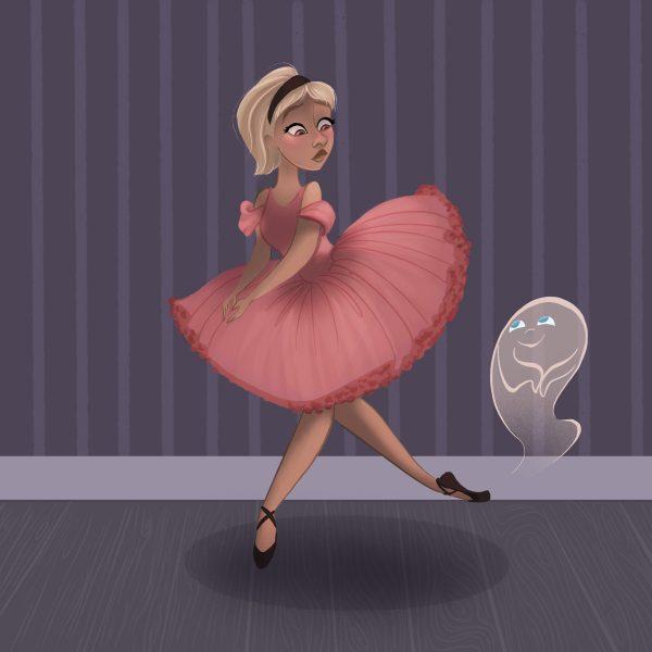 Ballerina & Ghost