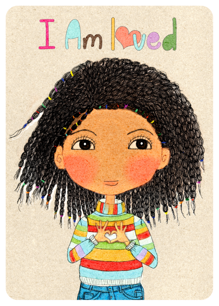 Happy Kids Affirmation Card