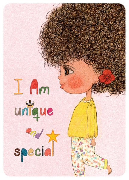 Happy Kids Affirmation Cards