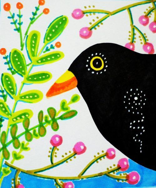 Blackbird bright ©