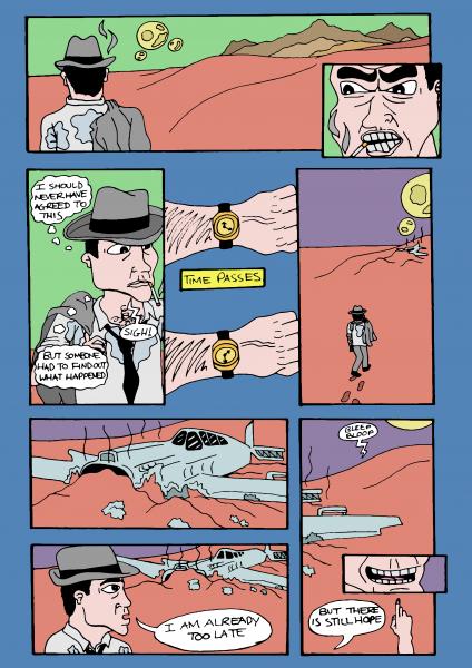 Comic Book Strip