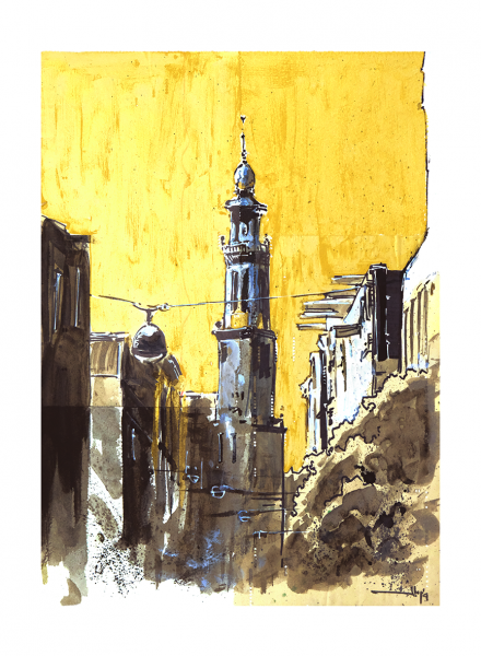 Ammsterdam tower.