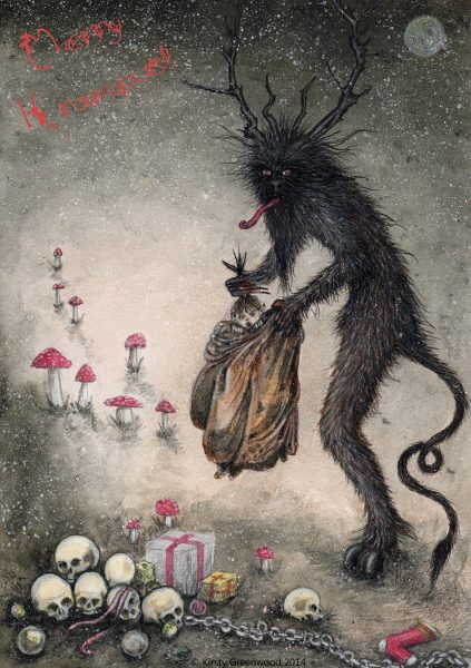 Krampus by Kirsty Greenwood