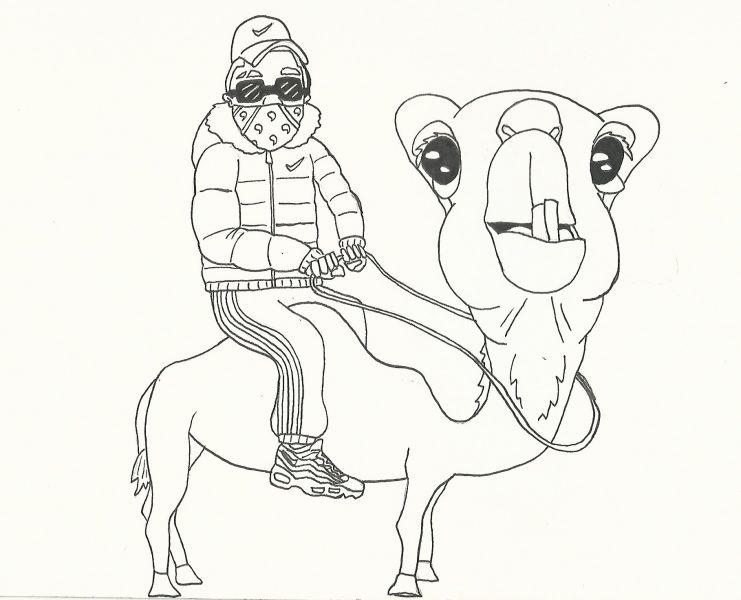 Roadman On Camel
