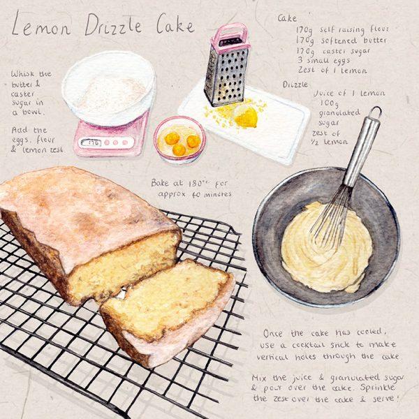 Lemon Cake Illustrated Recipe