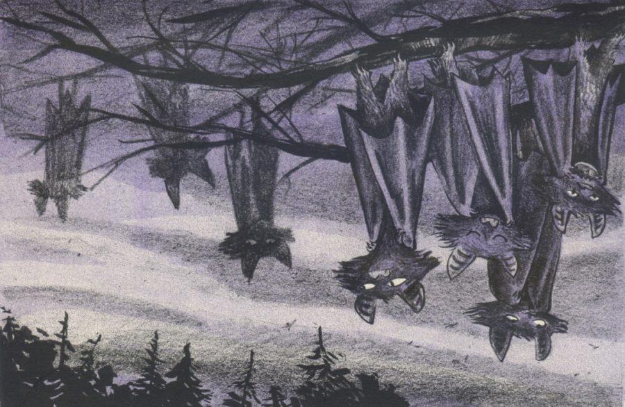 Bats! riso print