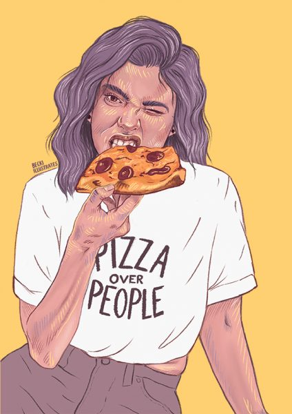 Pizza Over People