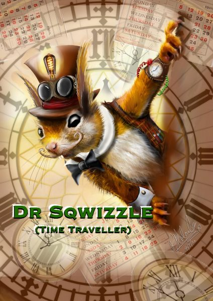 Dr Squizzle Time Squirrel
