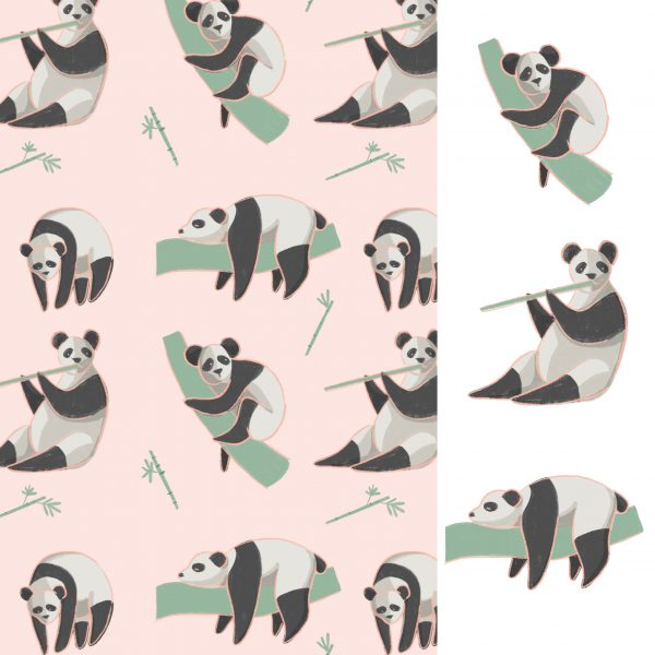 Giant Panda Pattern