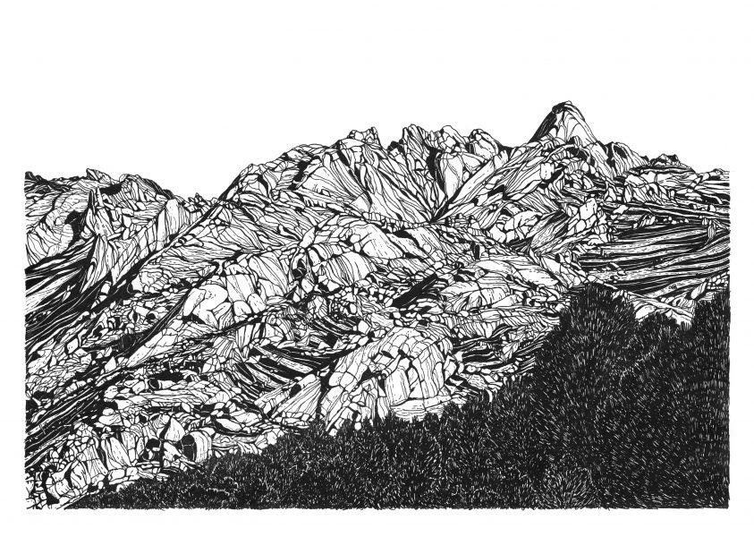 La Pedriza panoramic