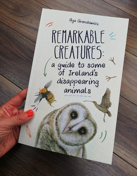 'Remarkable Creatures: a guide to some of Ireland's disappearing animals' book_cover