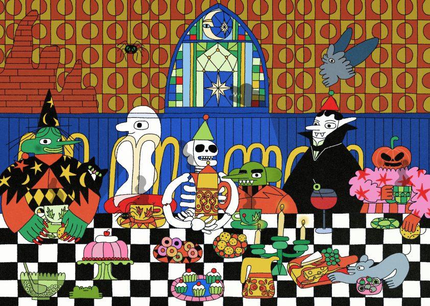 Halloween Teaparty
