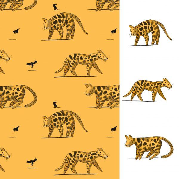 Clouded Leopard Pattern