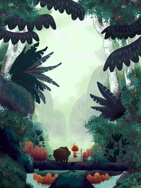 Amazonian Folk Tales - Curupira