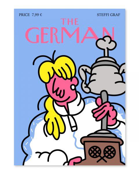 The German Cover (Steffi Graf)
