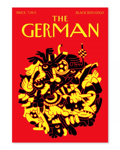 The German Cover (Black Red Gold)