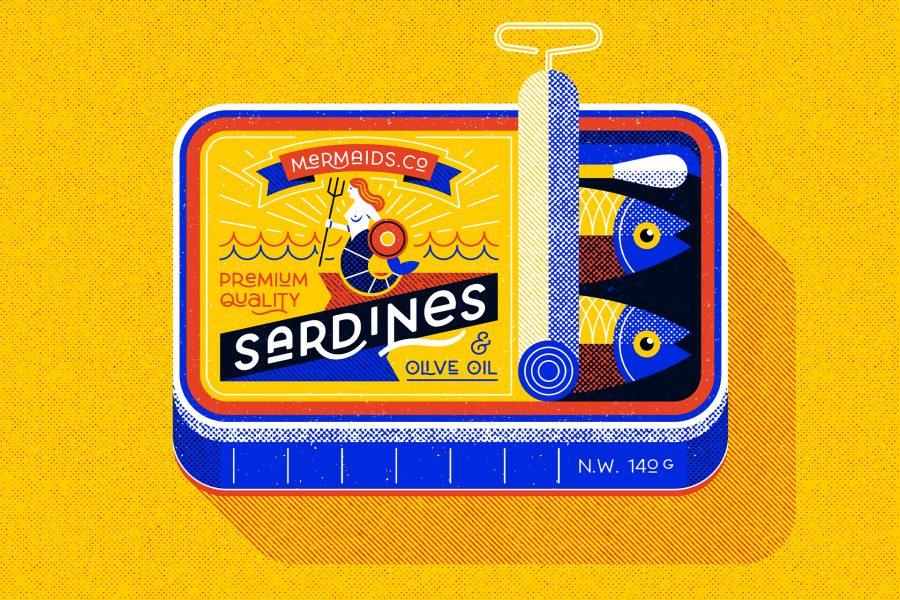 Sardine can, Personal work