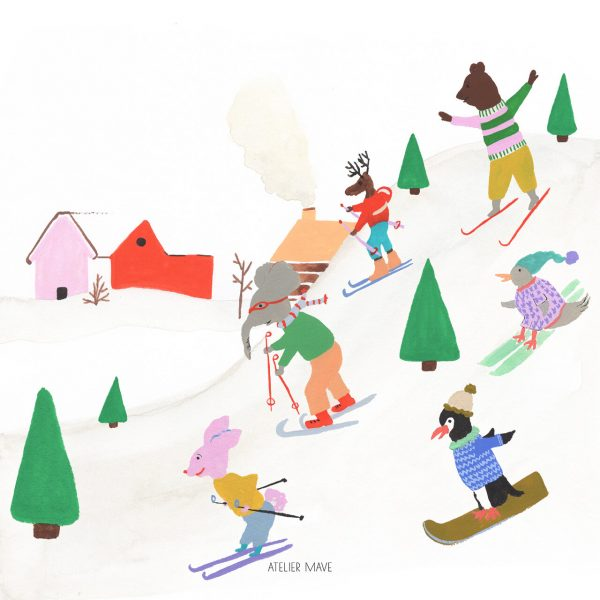 Animal+Skiers