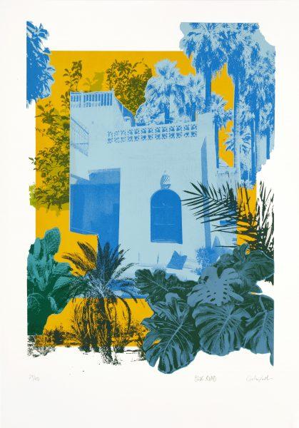Blue Riad Screen Print