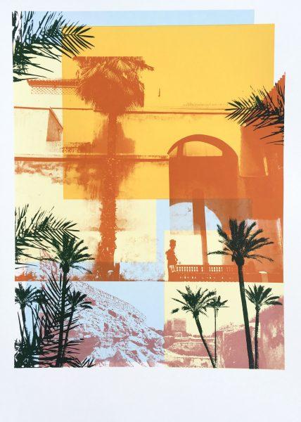 Moroccan Haze Screen Print