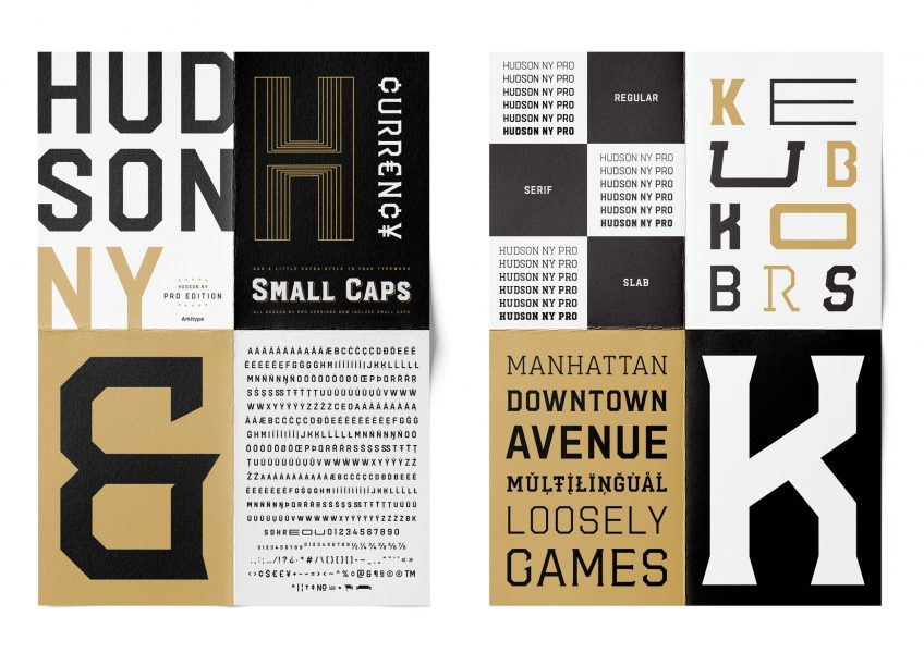 Hudson-NY Typeface