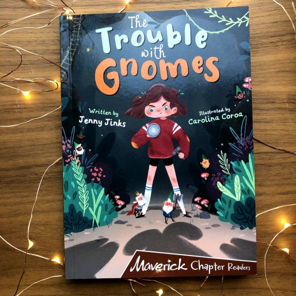Trouble with Gnomes | Cover Art