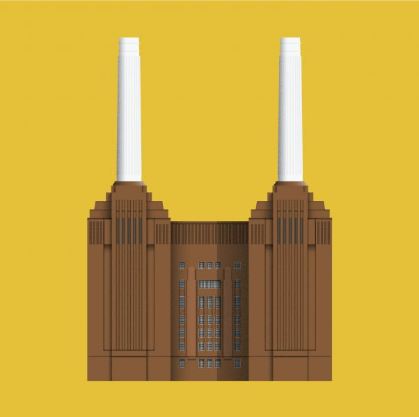 Battersea Power Station Illustration
