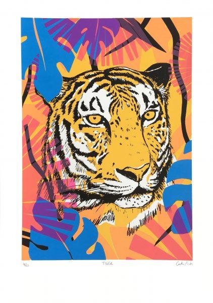 Tiger Screen Print