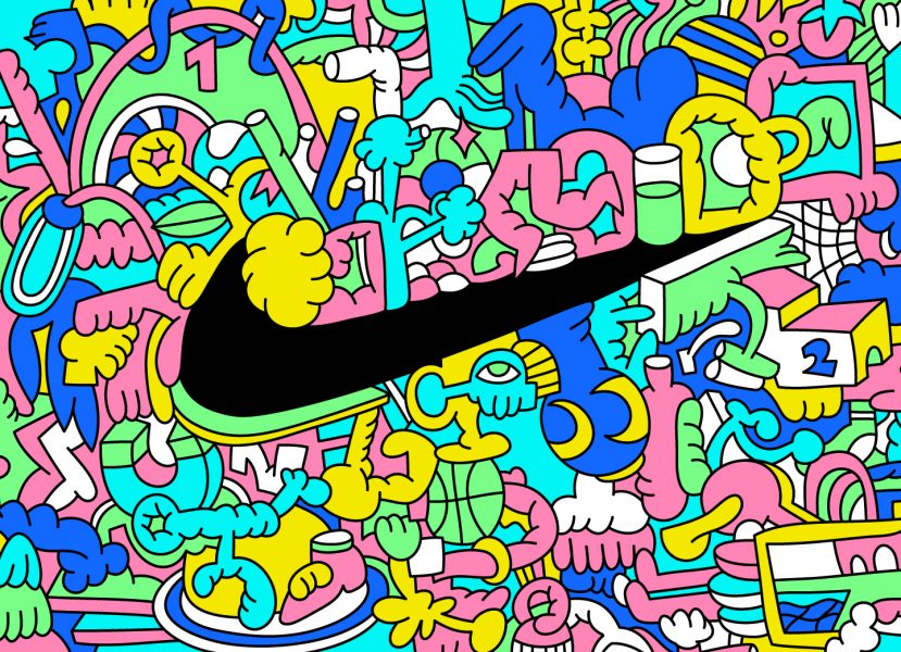 Nike Doodle (Personal work)
