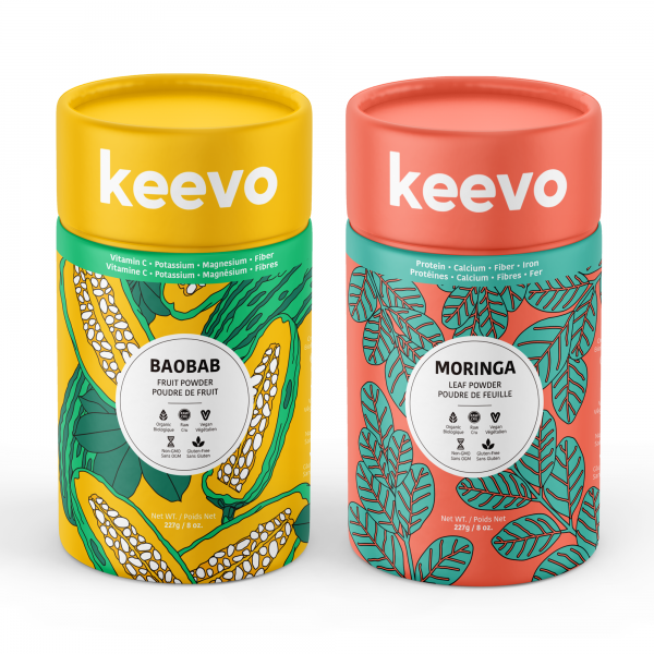KEEVO packaging illustration and design