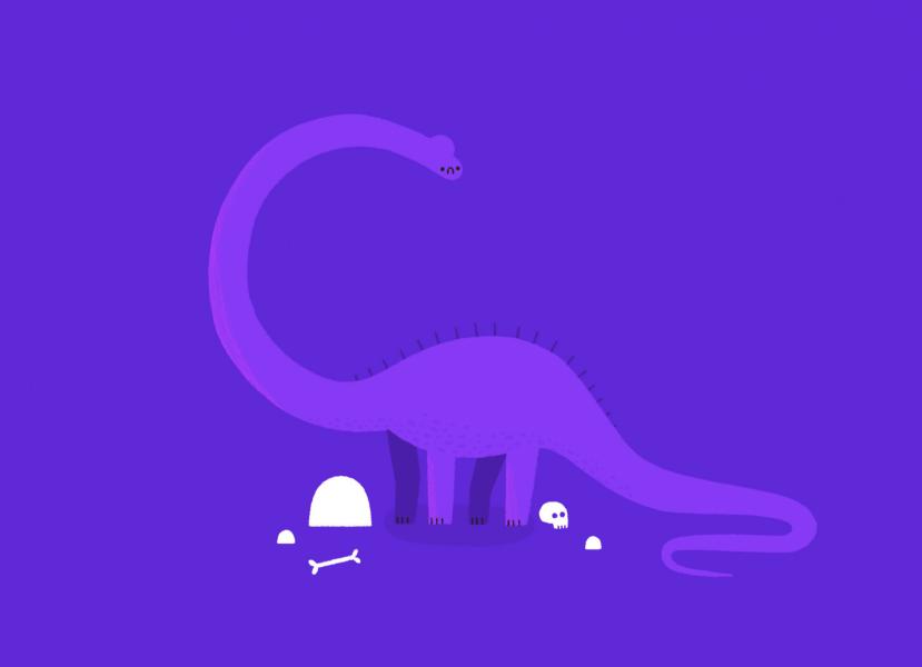 Sad Dino