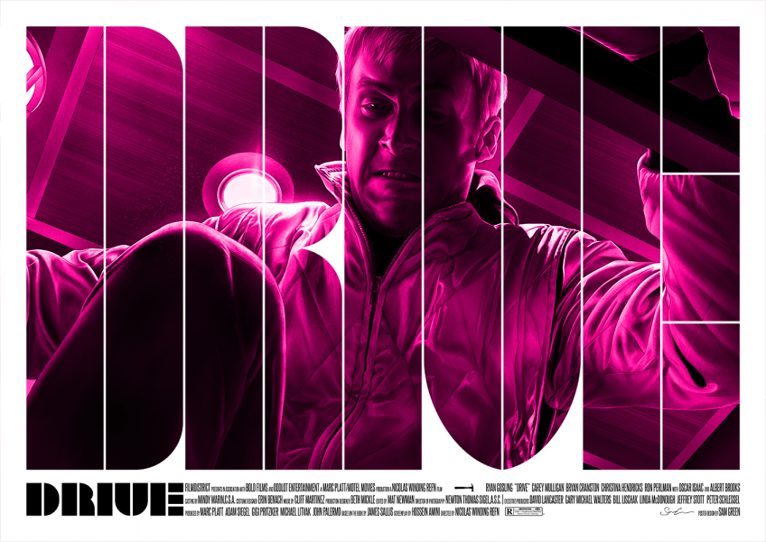 Drive (2011) - Movie Poster