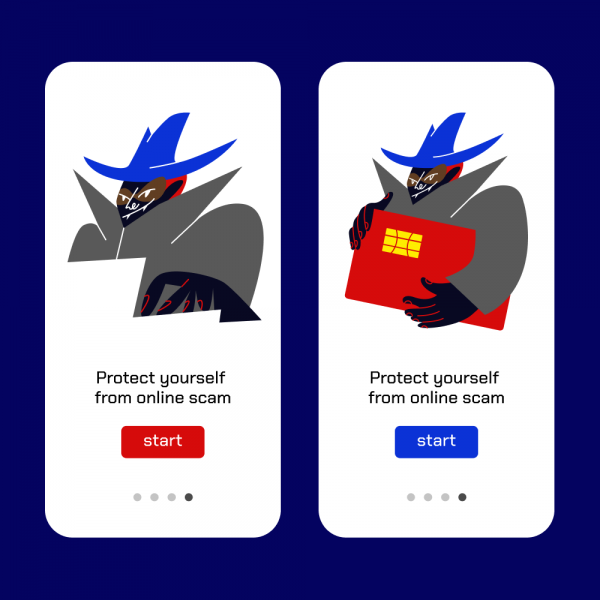 Protect from online scams