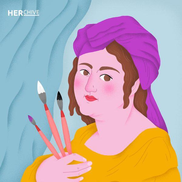 Artemisia Gentileschi / HERchive