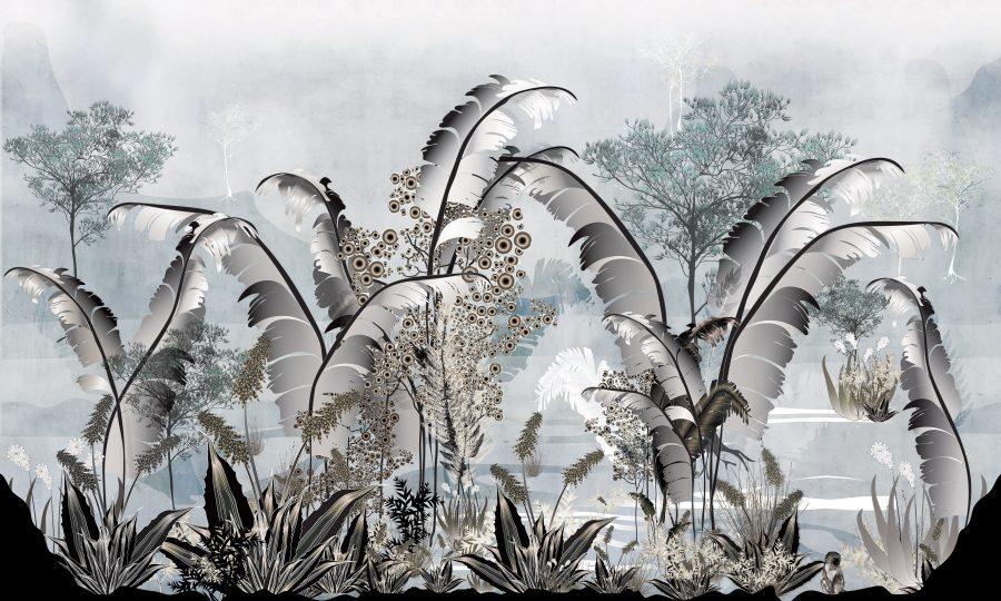 Jungle palm light