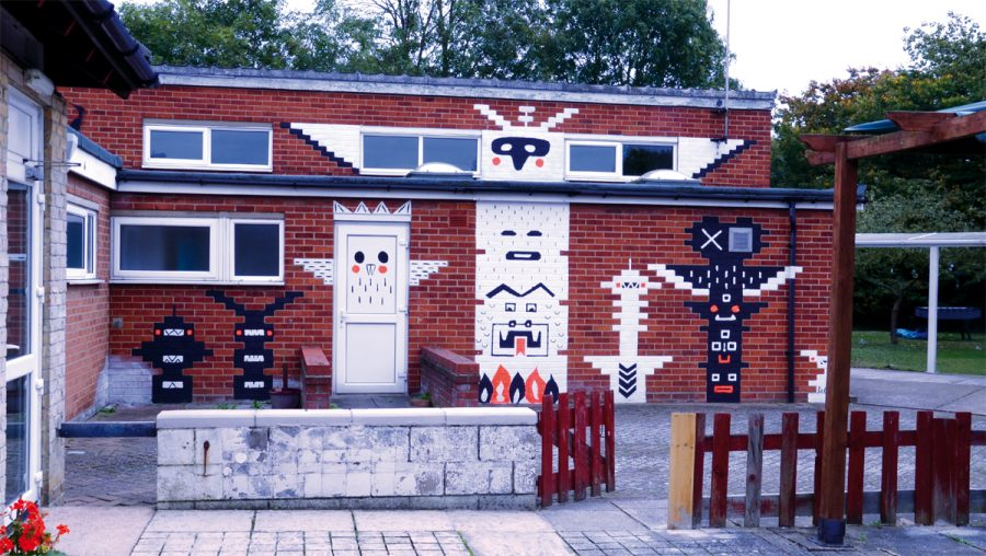 Lele Saa mural
