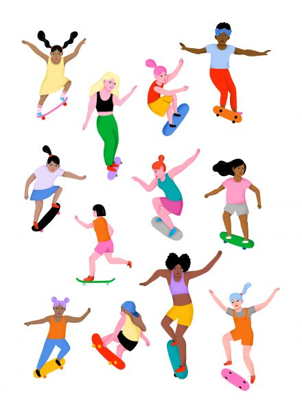 Skate Girls / Personal