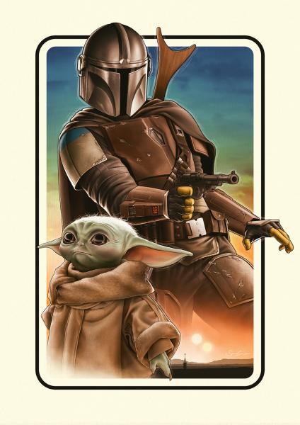 The Mandalorian - Poster