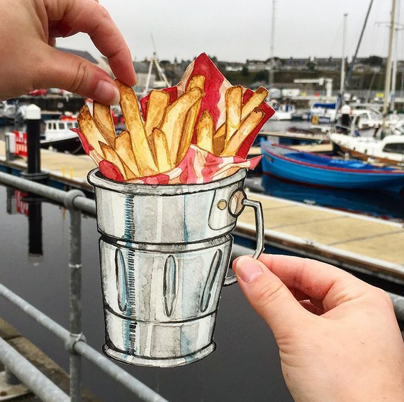 Fries At The Harbour