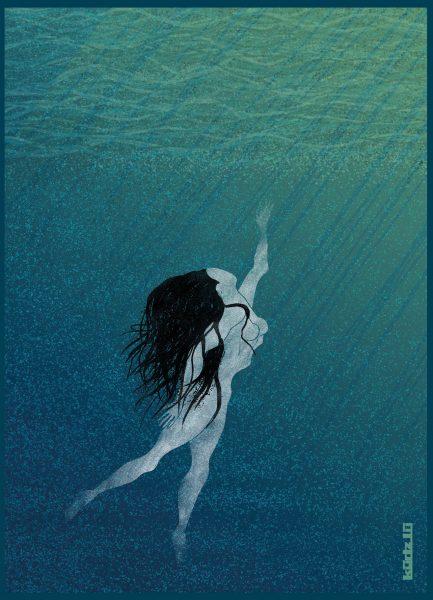 swimm out_postkarte