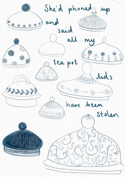 Teapot lids