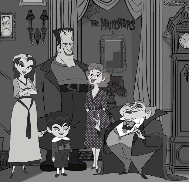 The Munster's family portrait
