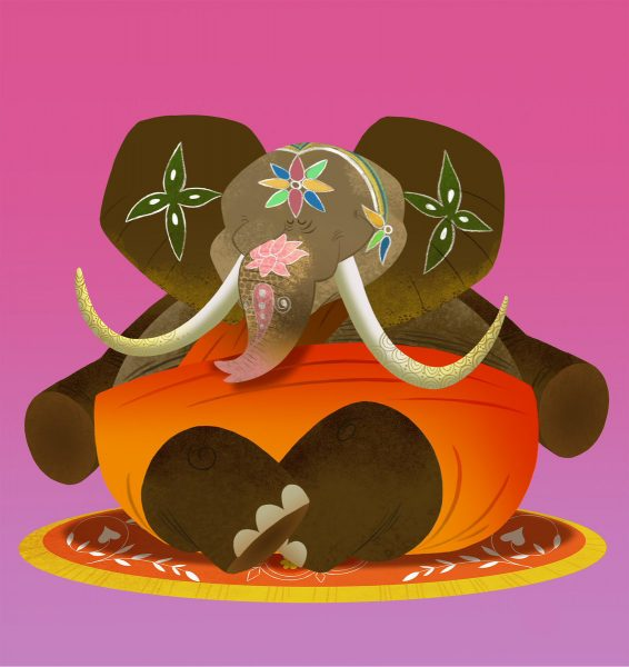 Yoga Elephant