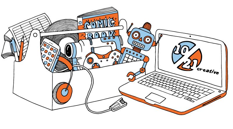 1021 Creative - Web Illustrations