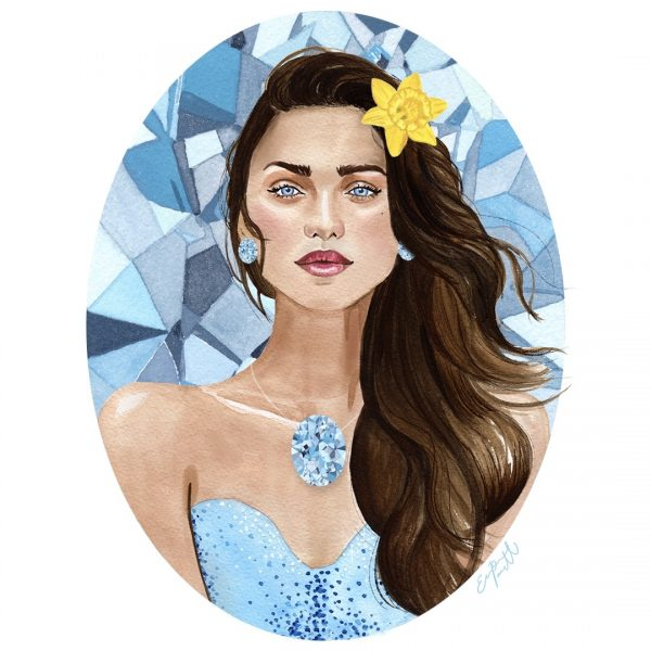 Aquamarine Portrait
