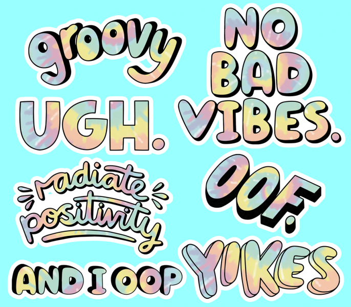Cool Aesthetic Sticker Designs