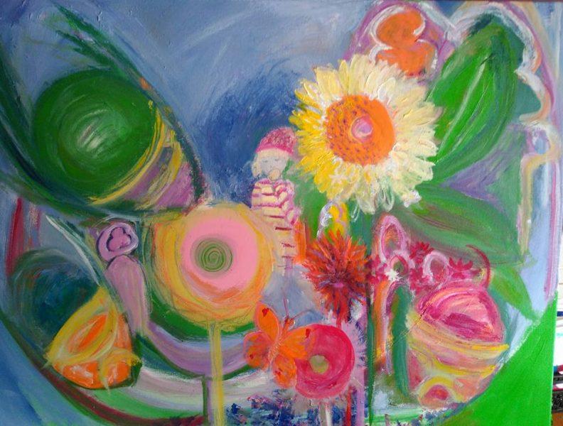 Evie's Sunflower Garden
