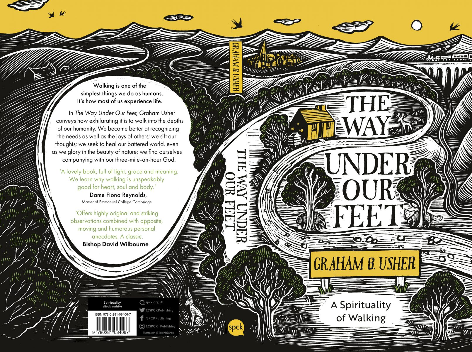 The Way Under Our Feet Full Book Cover Artwork