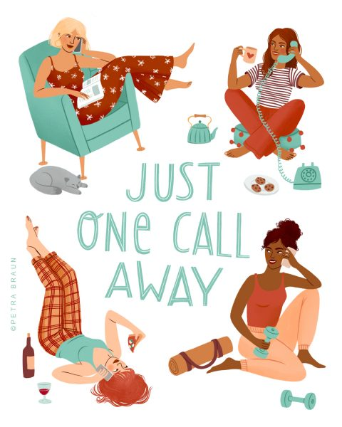 Just one call away