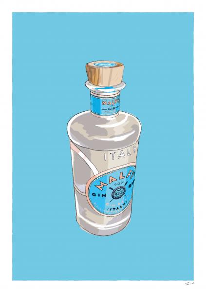 Malfy Gin Bottle